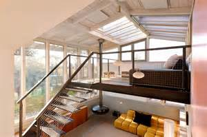 small split level house plans home design a loft with glass ceiling