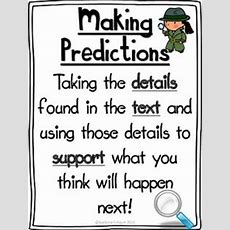 1000+ Ideas About Making Predictions On Pinterest  Prediction Anchor Chart, Drawing Conclusions