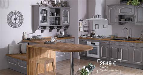 photo de cuisine blanche cuisine saveur lapeyre photo 17 20 grege chêne