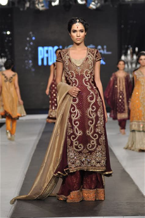 Set Asifa asifa nabeel collection at pfdc l oreal bridal