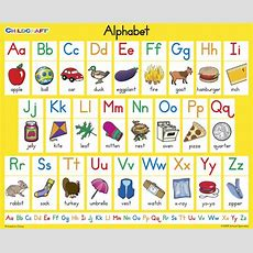 Childcraft Student Sized English Alphabet Chart, 11 X 9 Inches, Set Of 25  School Specialty Canada