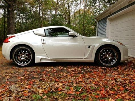 nissan 370z custom sell used 2009 nissan 370z touring coupe custom bodykit
