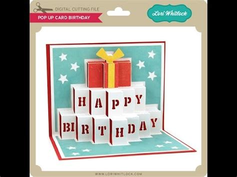 pop  card birthday youtube
