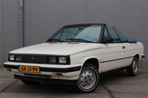 1985 renault alliance convertible renault alliance convertible 1985 catawiki