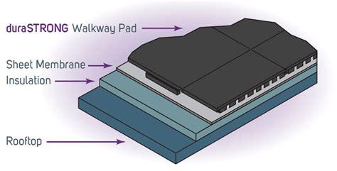 rubber roof paver walkway pad interlocking