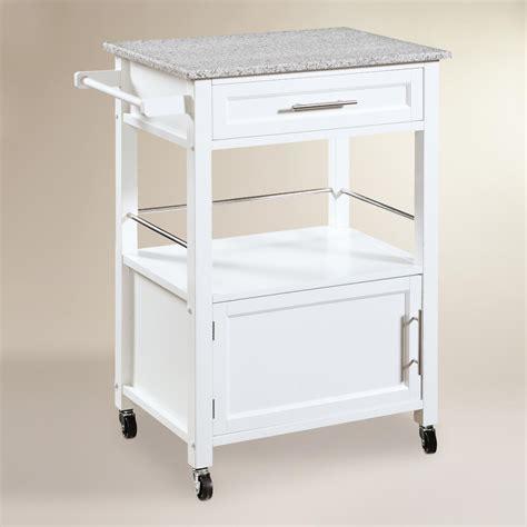 Granite Top Ade Kitchen Cart  World Market