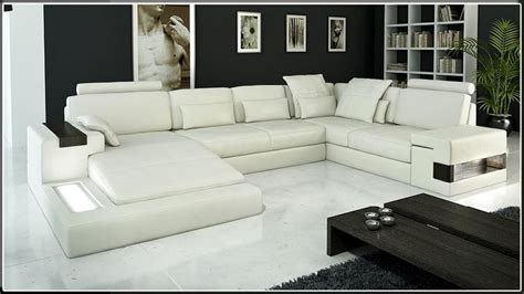 canapé de luxe modern leather sectional sofa cp 1692 hl