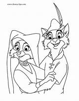 Robin Hood Coloring Pages Marian Maid Skippy Disney Disneyclips Lady Printables Template John Christmas Adult Prince Funstuff Drawings sketch template