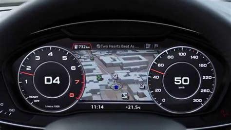das audi virtual cockpit im audi  youtube