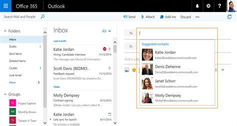 Office 365 Outlook New Features by Microsoft Announces Several New Features For Outlook On