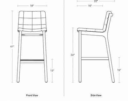 Barstool Dimensions Wicket Stool Bar Chair Seating