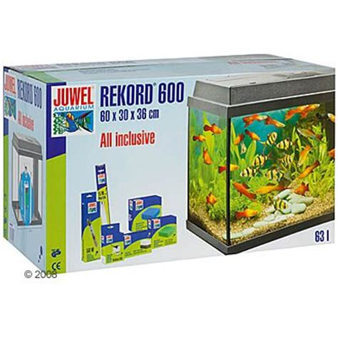juwel rekord 600 aquarium approx 63 l black