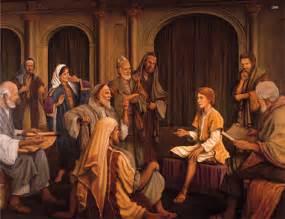 Young Jesus Teaching