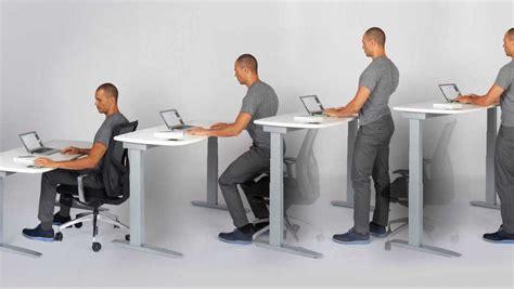 bureau ajustable bureau assis debout au travail j 39 ai vraiment vu un