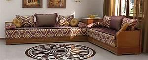 Salon Marocain Beldi Style Traditionnel Vendre Dco
