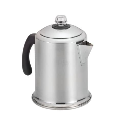 Large tank for less refilling; Coffee Consumers | Farberware Classic Stainless Steel Yosemite 8-Cup Coffee Percolator