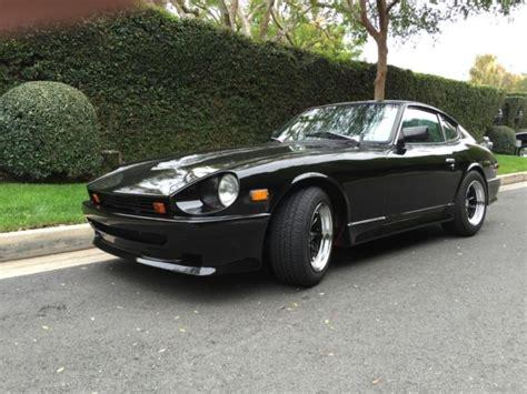 Black Datsun by Seller Of Classic Cars 1972 Datsun Z Series Black Black