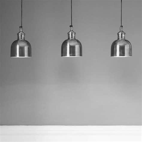 In Pendant Lighting by Flori Tarnished Silver Pendant Light By Rowen Wren