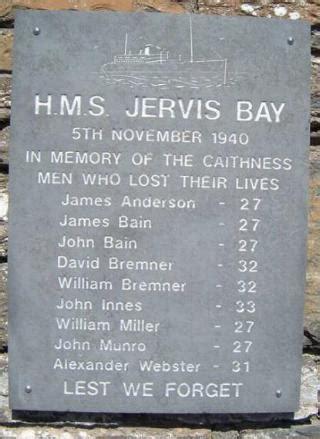 jervis bay memorials hms jervis bay