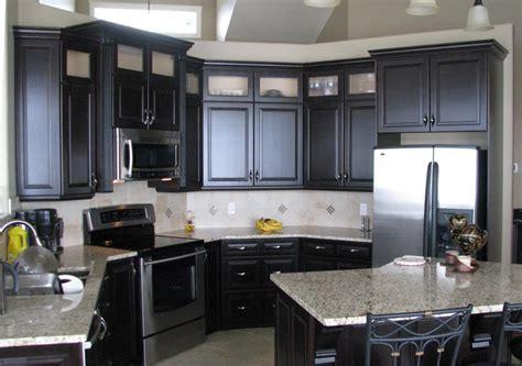 And Black Kitchen Ideas by Black Kitchen Cabinets Images Bajawebfest Inspiration