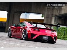 Liberty Walk Introduces New Acura NSX and Ford Mustang Kits