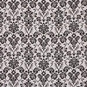 Schwarzer Stoff Kaufen : grau schwarzer blumen ornament vogel jacquard echino stoff echino stoffe stoffe kawaii ~ Markanthonyermac.com Haus und Dekorationen