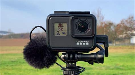 gopro hero black kompaktes mikrofon setup