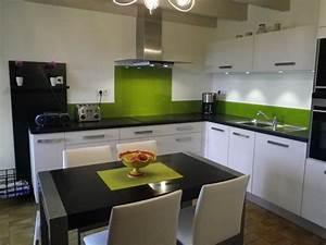 cuisine grise et vert anis quelle couleur mettre avec une With quelle couleur mettre dans une cuisine