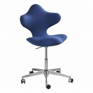 Chaise De Bureau Ergonomique En Tissu Et Mtal Active
