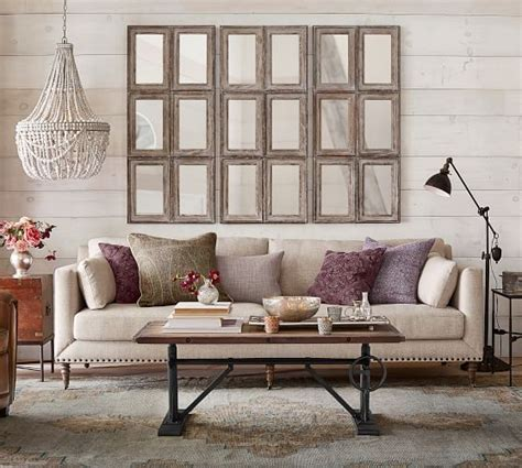 Loveseat Pottery Barn by Tallulah Upholstered Sofa Collection Pottery Barn