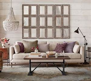 tallulah upholstered sofa collection pottery barn With best time to buy pottery barn furniture