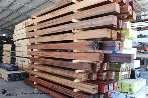 recycled timber posts beams perth wa austim timber