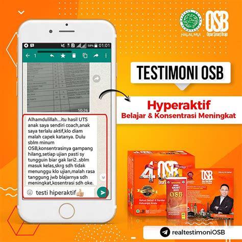 Maybe you would like to learn more about one of these? Agen Jual Vitamin Otak OSB di Gresik Surabaya Sidoarjo ...