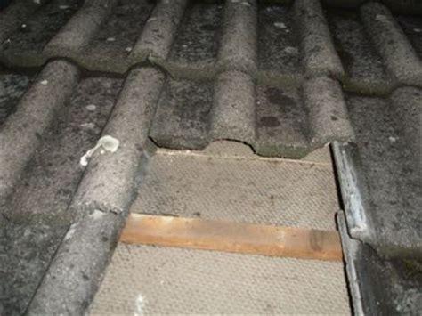 asbest dakbeschot deels vervangen
