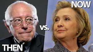 Bernie Sanders & Hillary Clinton Over The Years: Then vs ...