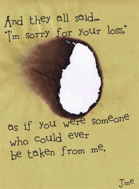 sorry your loss quotes