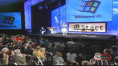 Windows 95 The Bill Gates Introduced by Jay Leno (Funny ...