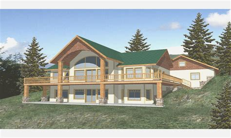 craftsman house plans with walkout basement lake house plans walkout basement beautiful craftsman style lake luxamcc