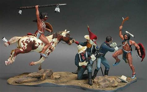 stand indians  cavalry  model