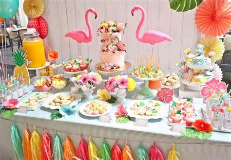 Kara's Party Ideas Spring Flamingo Birthday Party Kara's
