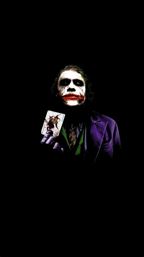 Batman Joker Joker Hd Wallpaper For Mobile by 79 The Joker Wallpapers On Wallpaperplay