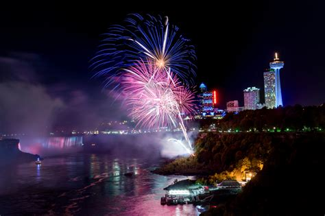 niagara falls fireworks series