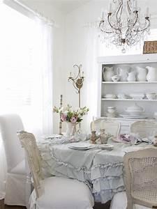 Shabby, Chic, Dining, Room, Design, Ideas