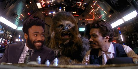 han solo billy dee williams  donald glover meet  lunch