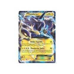 pokemon pokemon cards thundurus ex 38 116 rare holo plasma freeze p188