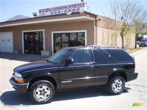 Onyx Black Chevrolet Blazer