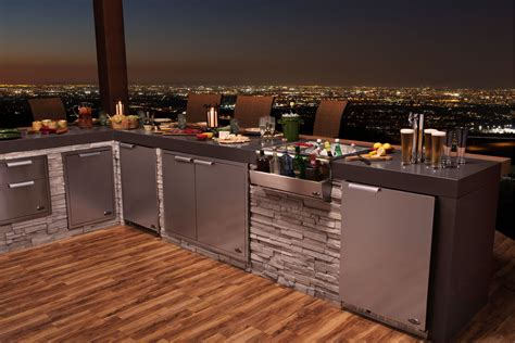 outdoor kitchen storage solutions dcs by fisher paykel sets stage for quot out is the new in 3874