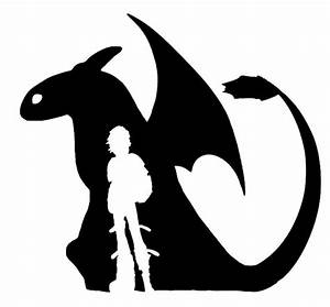 How to Train Your Dragon: Hicup Toothless Small Decal # ...
