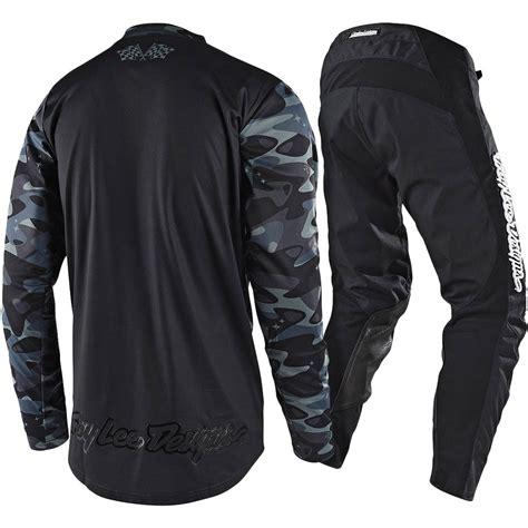 camo motocross gear troy lee designs new mx 2018 gp cosmic camo black