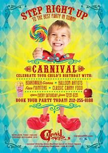 Carnival kids print advertisement | my work | Pinterest ...